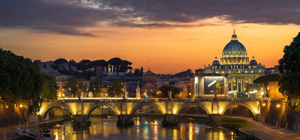 Puente de arco de acero estructura del puente río Fondo Arquitectura ...