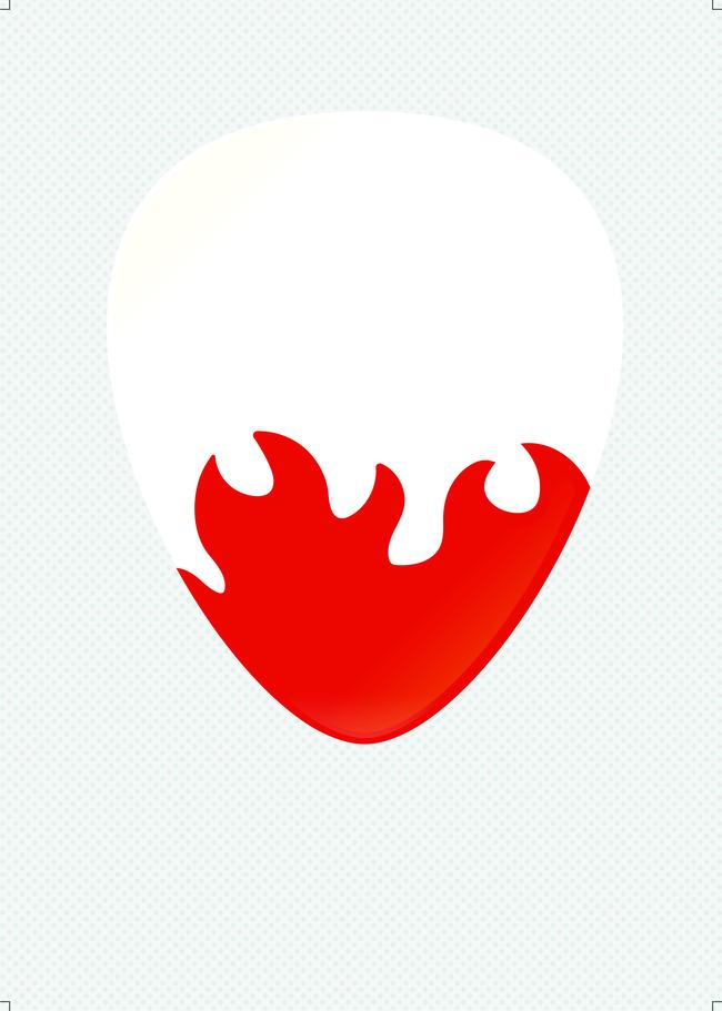 Pick Device Heart Symbol Background Icon Sign Shape Background