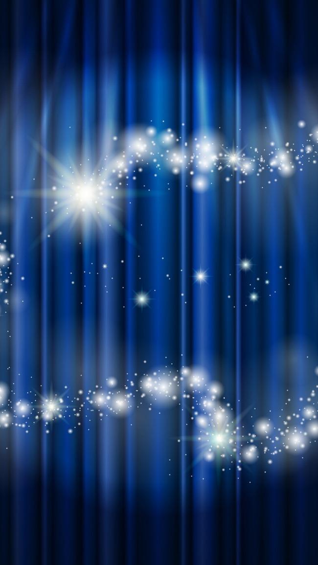 Luce Colorata Di Blu App Sullo Sfondo Contesto H5 Il Cellulare Di