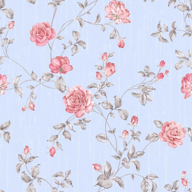 Floral Wallpaper Pattern Seamless Background
