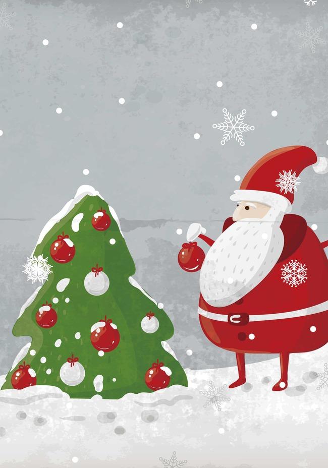 Cartoon weihnachts hintergrund dekoration, Cartoon , Kindlich ...