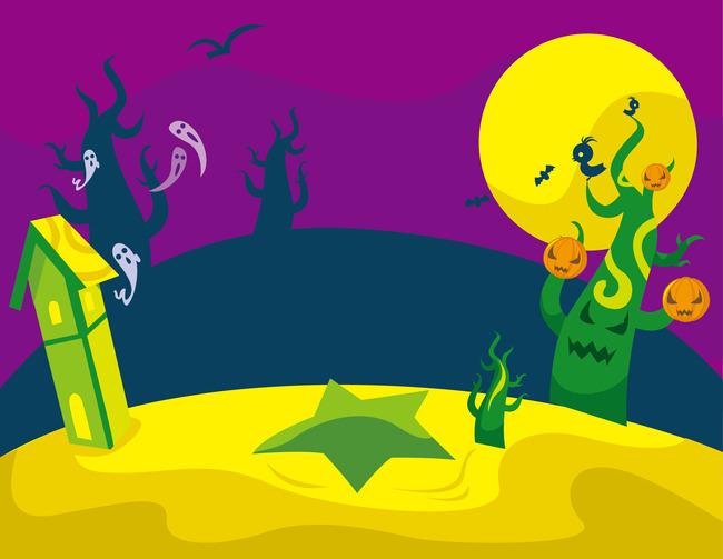 funny halloween background halloween terror supernatural