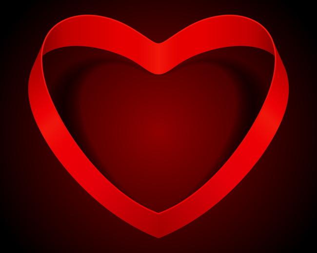 Heart Symbol Love Icon Background Graphics Frame Romance