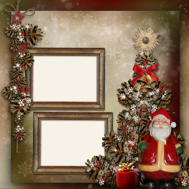 weihnachten retro textur echte weihnachtsmann romantische. Black Bedroom Furniture Sets. Home Design Ideas