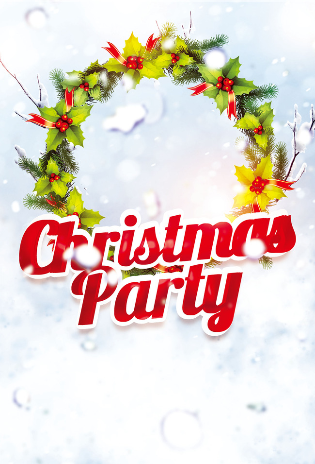 christmas background party