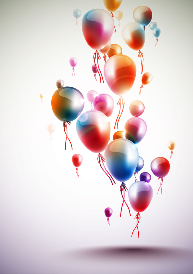 Bangle Balloon Celebration Birthday Balloons Party Decoration Background Image For Free Download