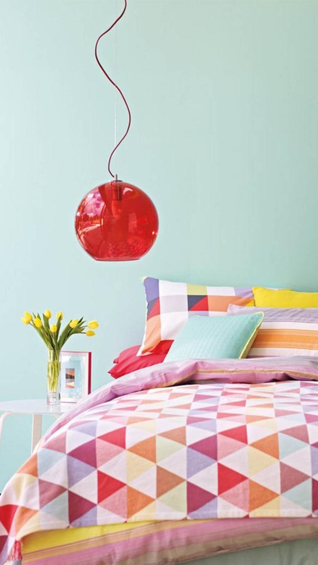 Decke Bettwasche Schlafzimmer Stoff Fur Dekoration Bett Zimmer