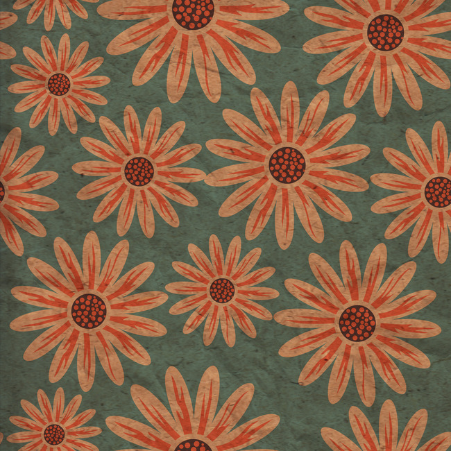 Arabesque Floral Pattern Seamless