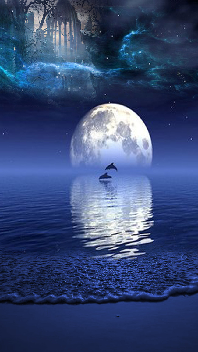 lune r u00e9flexion photo plan u00e8te la terre repr u00e9sentation la