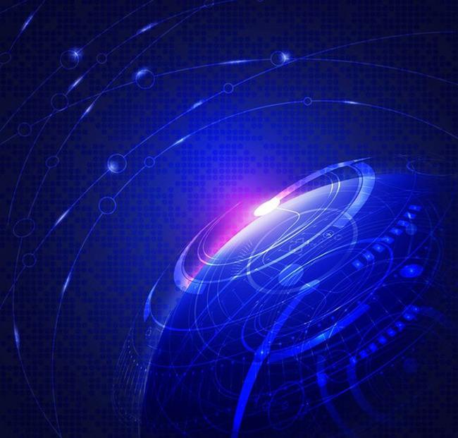 Laser Light Digital Space Background