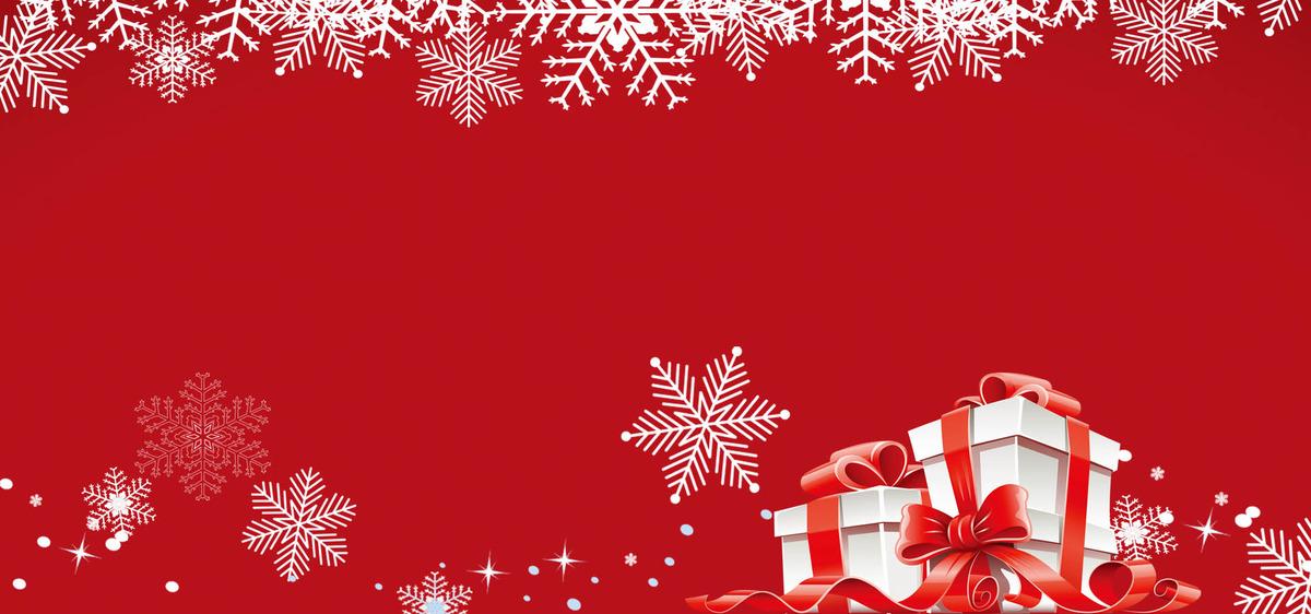 Copo De Nieve De Navidad Navidad Rojo Poster Background