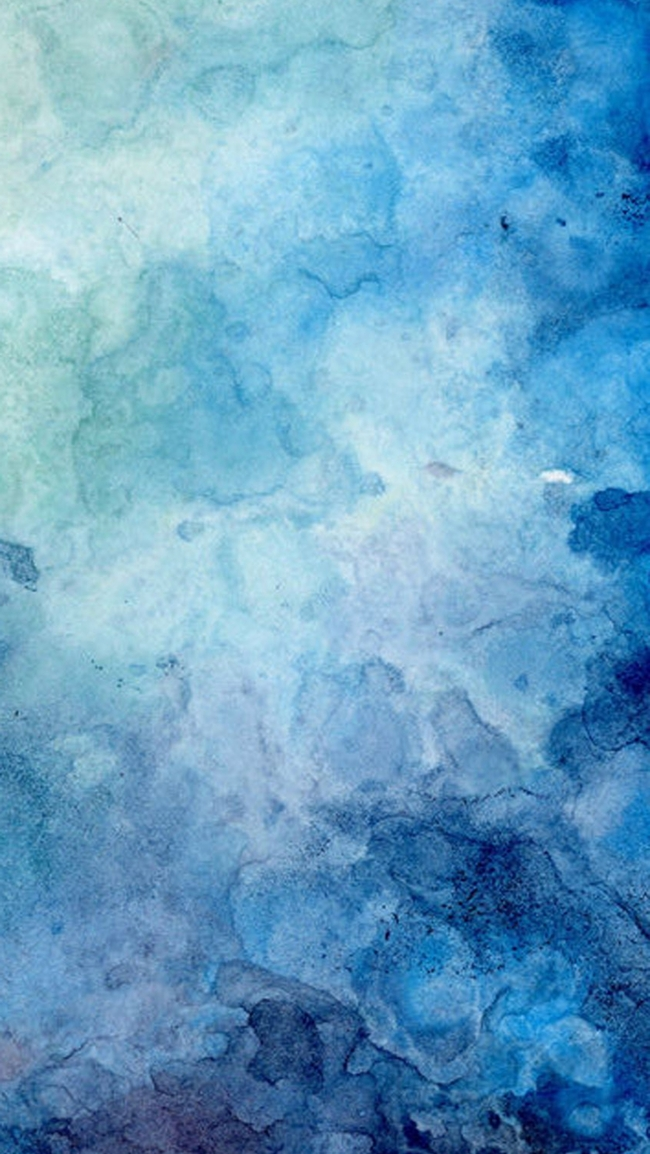 Blue white gld paint brush stroke art desktop wallpaper ...