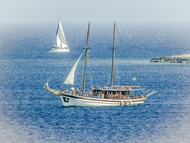 Ship Vessel Boat Pirate Background, Yacht, Craft, Schooner