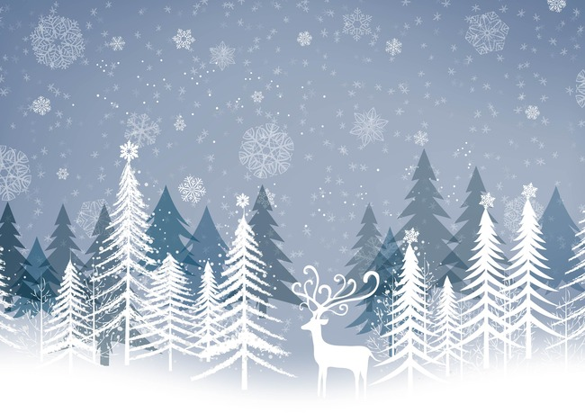 Fiocchi Di Neve Di Carta Modelli : L albero di natale di poster precedenti il bosco fiocco di neve