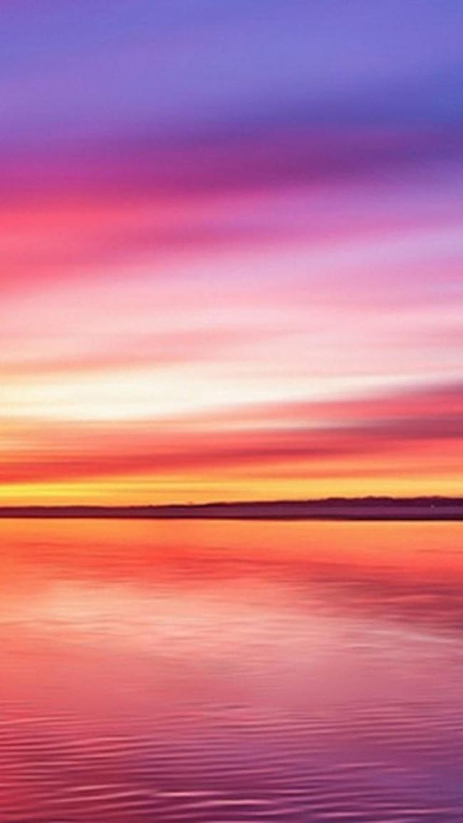 Seascape Sun Sunset Sky Background