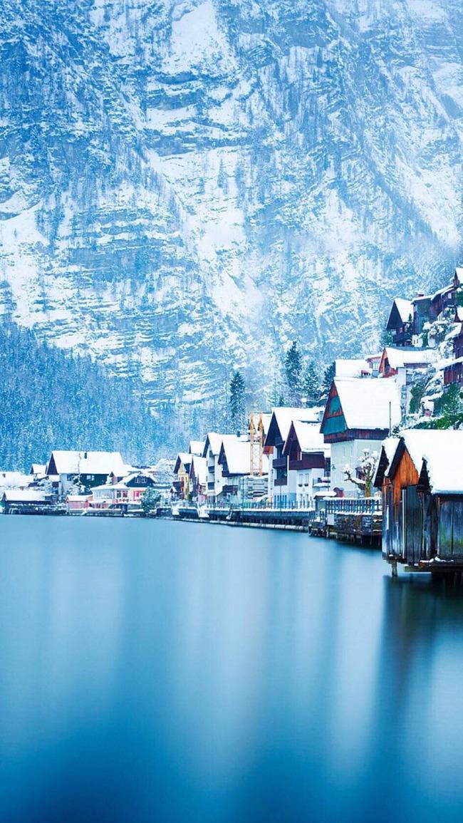 Schnee im winter kalt schneeflocke hintergrund Tapete Design Karte ...