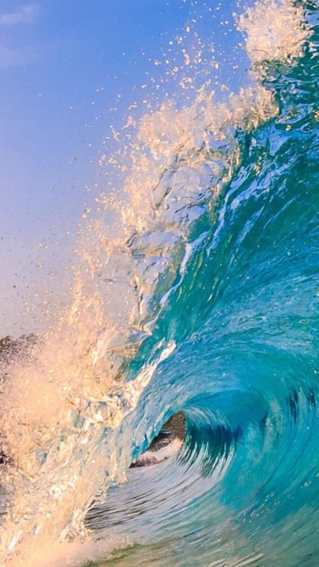 Ocean Wave Background Teke Wpart Co