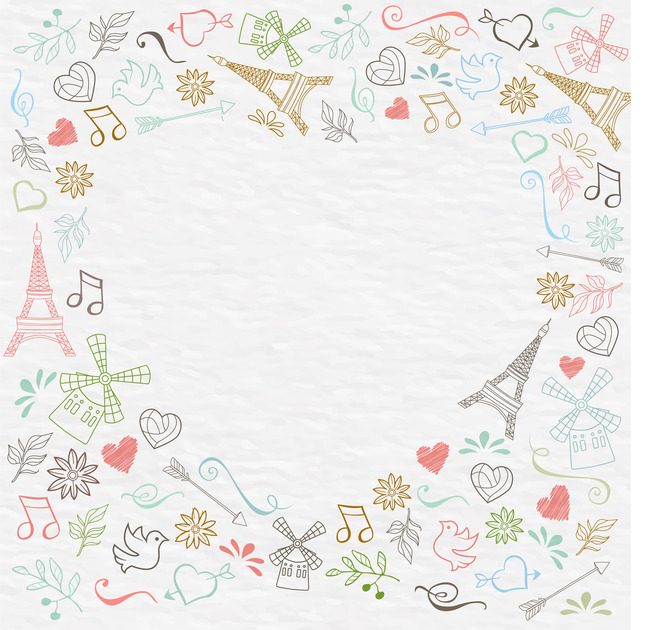 Frame Handkerchief Piece Of Cloth Decoration Background, Design ...