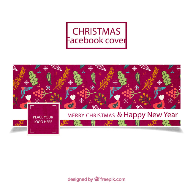 christmas new year background material packaging cover figure pattern chinese style background