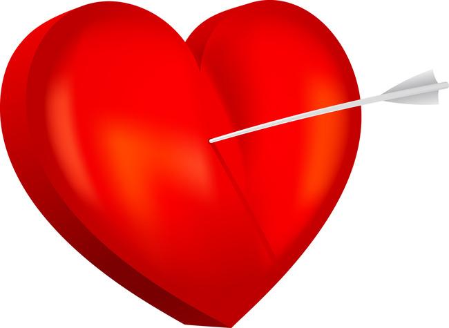 Heart Thumbtack Love Symbol Icon Oxygen Romance Background Image