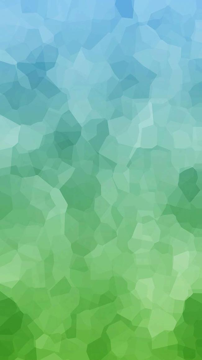 Dipinta A Mano Gradiente Di Sfondo Romantico Sfondo Verde Sfondo Blu