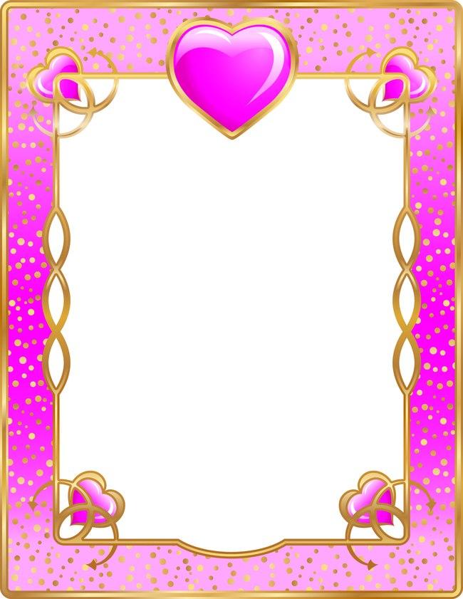 Pink Fantasy Love Romantic Aesthetic Frame Poster Background, Dream ...