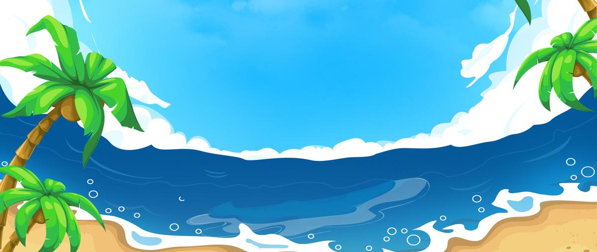 In vacanza al mare dei cartoni le nuvole del cielo sullo - Cartoni animati mare immagini ...