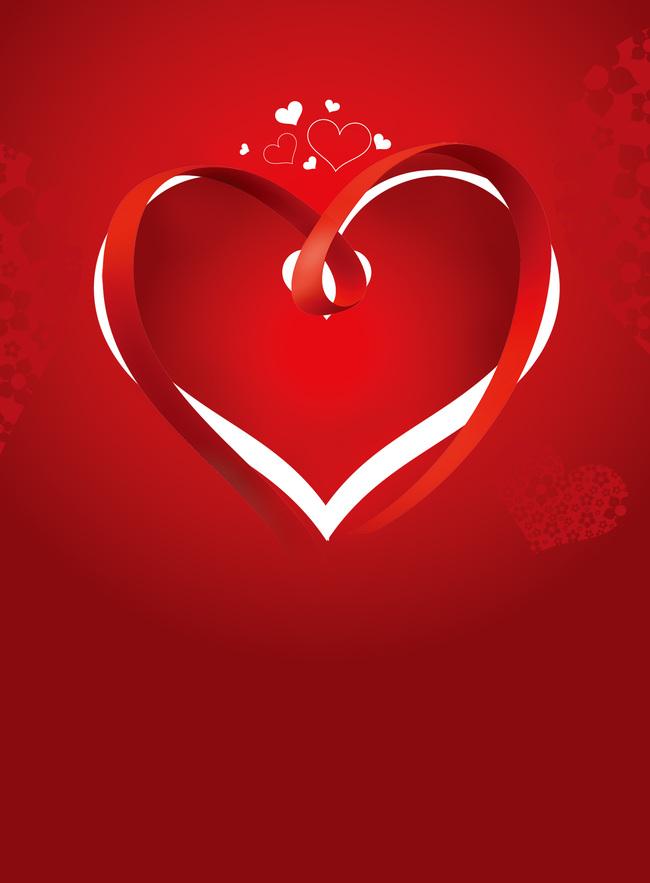 Heart Symbol Design Love Background Card Gem Sign Background