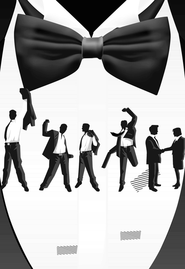 Silhouette People Silhouettes Men Background Women Group Male