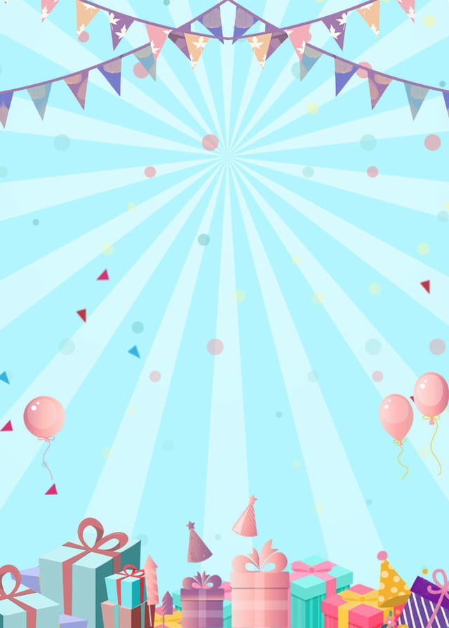 Birthday Party Poster Background Template Birthday Party Poster Background Image For Free Download