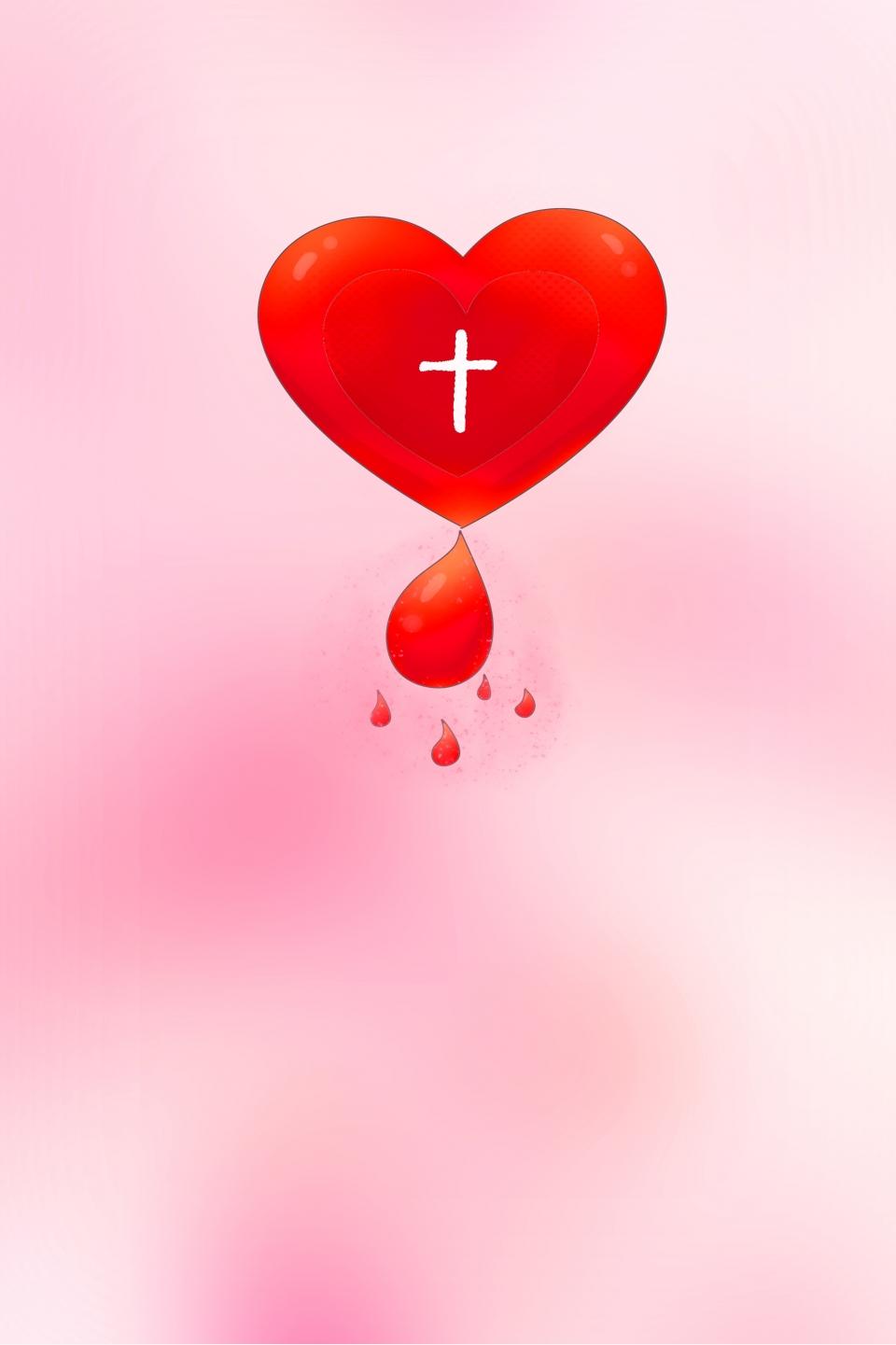 Poster Don De Sang Psa Conception Image Télécharger Libre