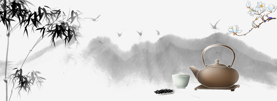Chinese Style Pu Er Tea Background Material, Tea Ceremony, Poster, Ink  Background Image for Free Download