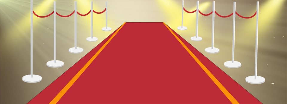 Taobao Red Carpet Fence Vector Cartoon Light Dazzling Romantic Poster Background Red Carpet Fence Vector Background Image For Free Download