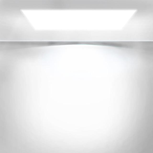 White Minimalist Lighting Background Material