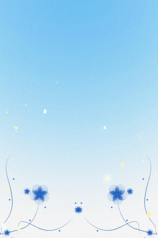 Beautiful Light Blue H5 Background Beautiful Light Blue Blue Background Image For Free Download