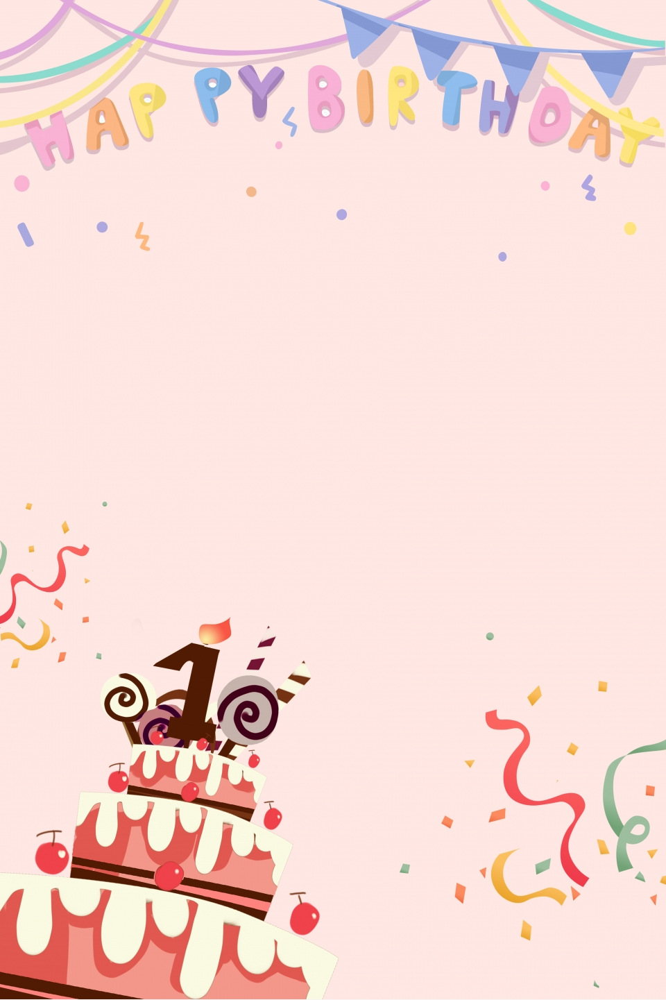 Birthday Poster Template from png.pngtree.com