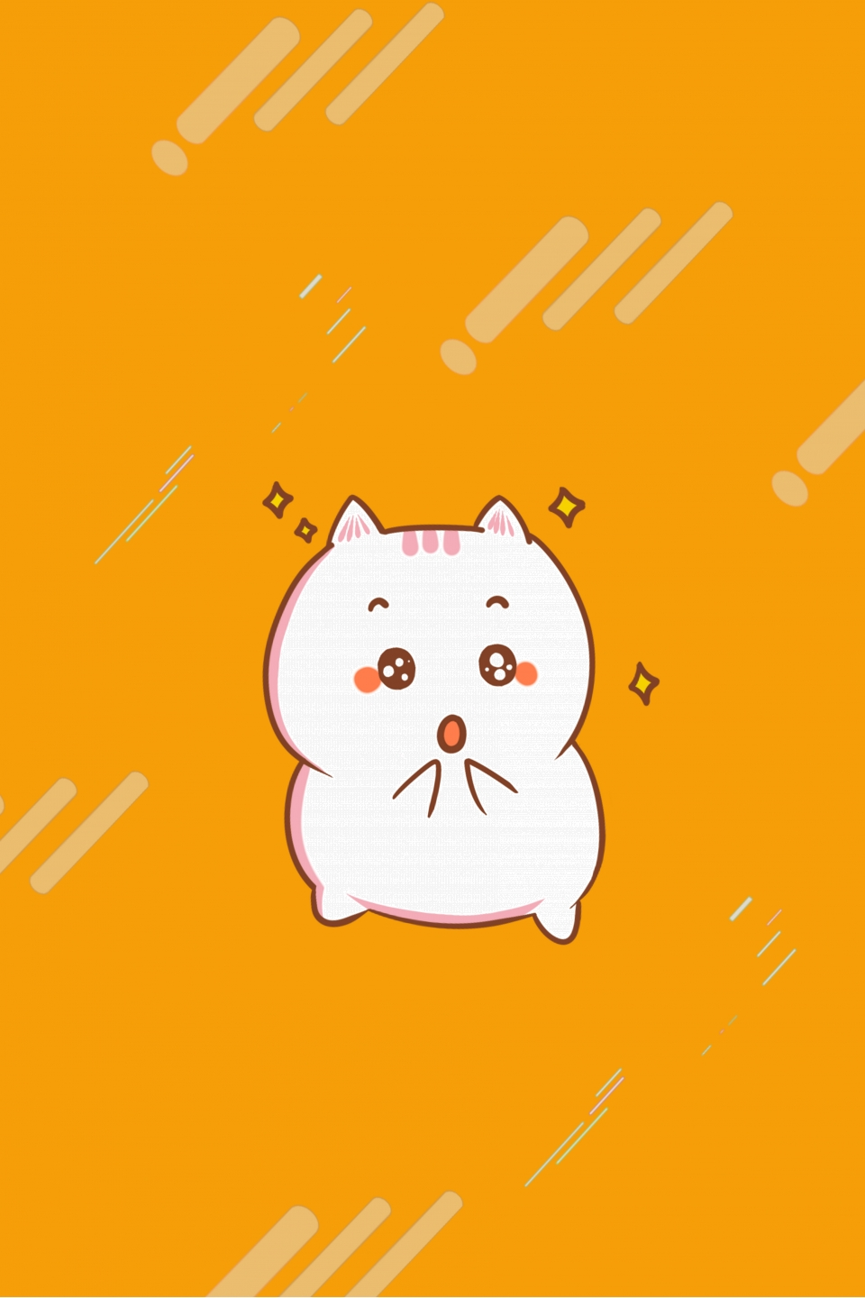 pngtree cartoon lucky cat h5 background image 141016