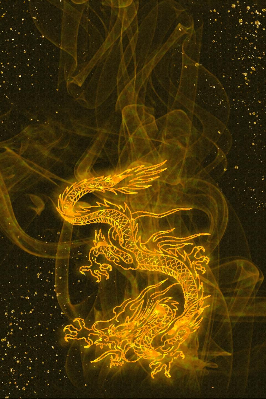 Noir Style Chinois Dragon D Or Texture Psd Couches Base Image De Fond Pour Le Telechargement Gratuit