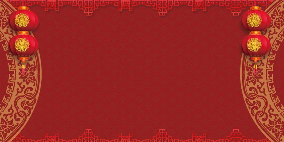 Chinese Wedding Stage Background Material Chinese Wedding