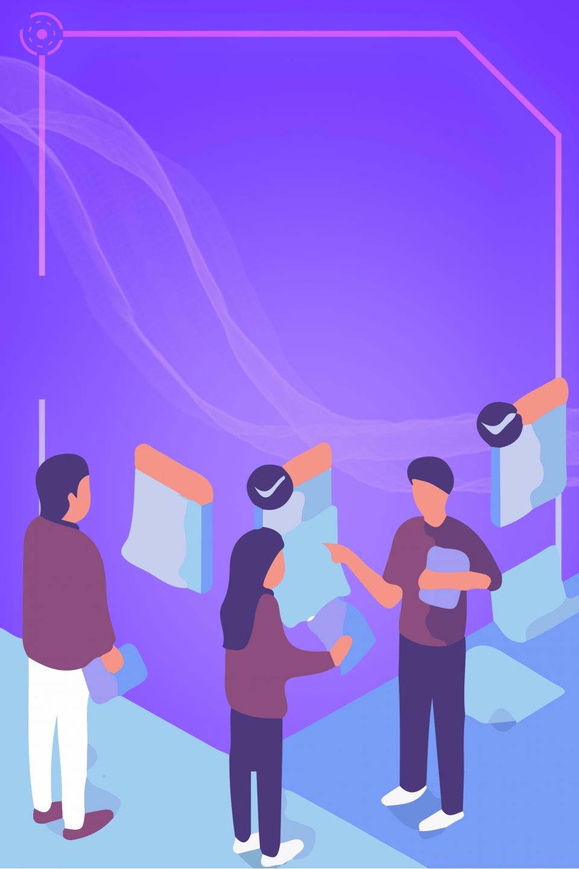 Azul Póster Motivacional Cultura Corporativa Póster De