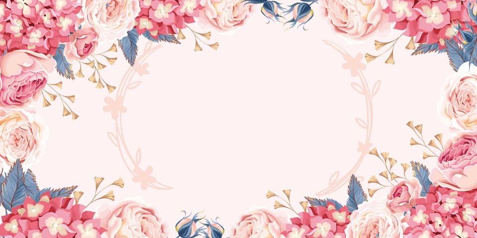Fantasy Wedding Invitation Invitation Cover Background Material