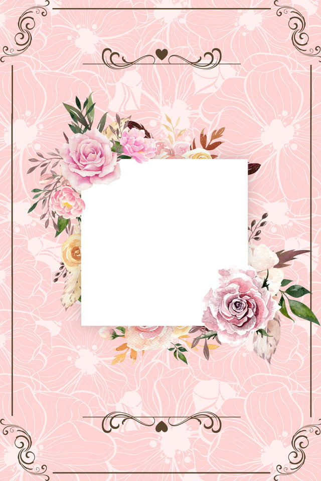 Fresh Mori Pastel Wedding Invitation Background Template Fresh Sensation Pastel Pink Background Image For Free Download