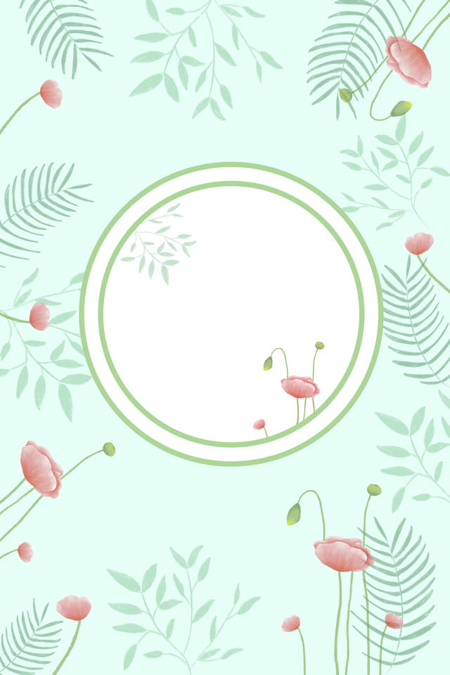 Tarjeta De Invitación Descarga De Imagen Boda Verde Fresco