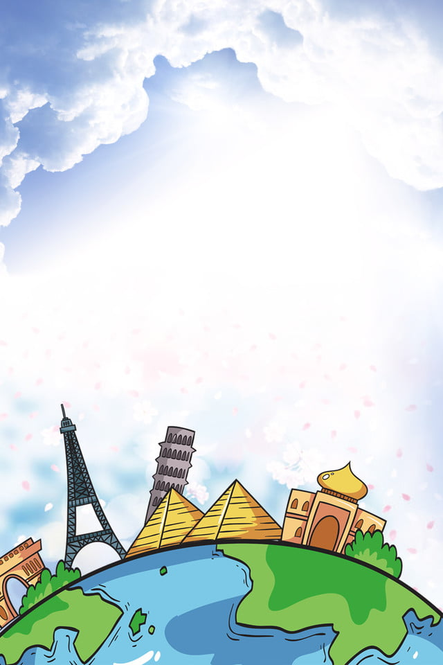 Fun Paris France Tour H5 Poster Background Download Fun Paris France Paris Background Image For Free Download