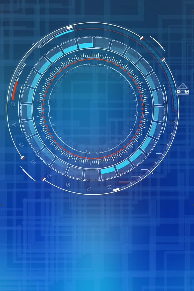 High Tech Robot Poster, High Tech, Robot, Blue Background ...