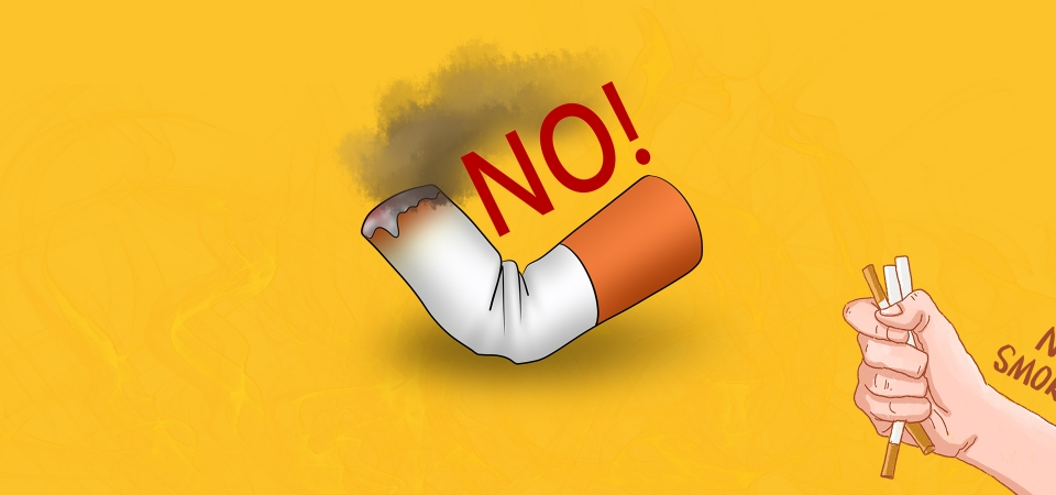 No Smoking Banner Background Poster No Smoking Smoking Is Harmful To Health Smoking Background Image For Free Download