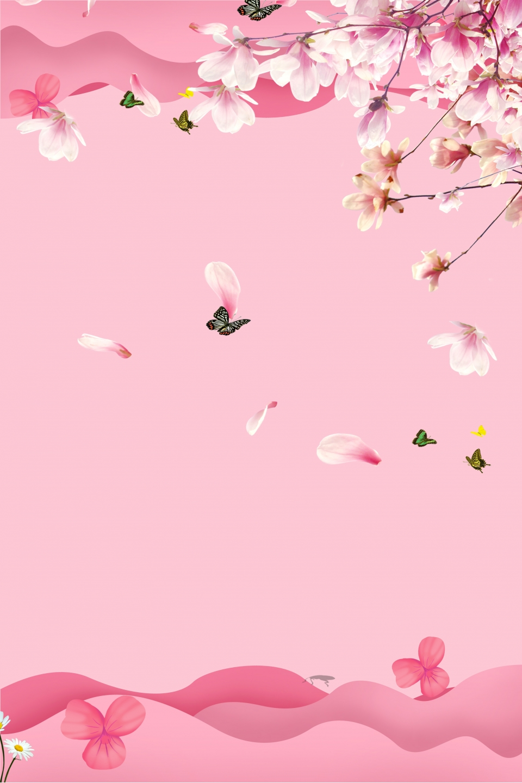 無料ダウンロードのための春 花 ポスター バックグラウンド 春の青春