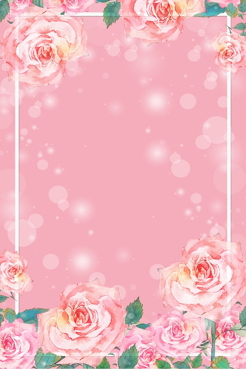 Pink Flower Health Products Shop Home Background Pink Background