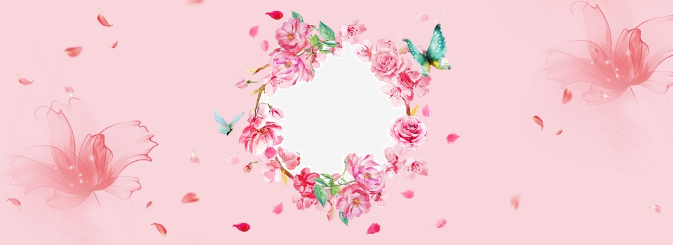 Beautiful Banner Poster Board Pink Pink Rose Background Image For Free Download