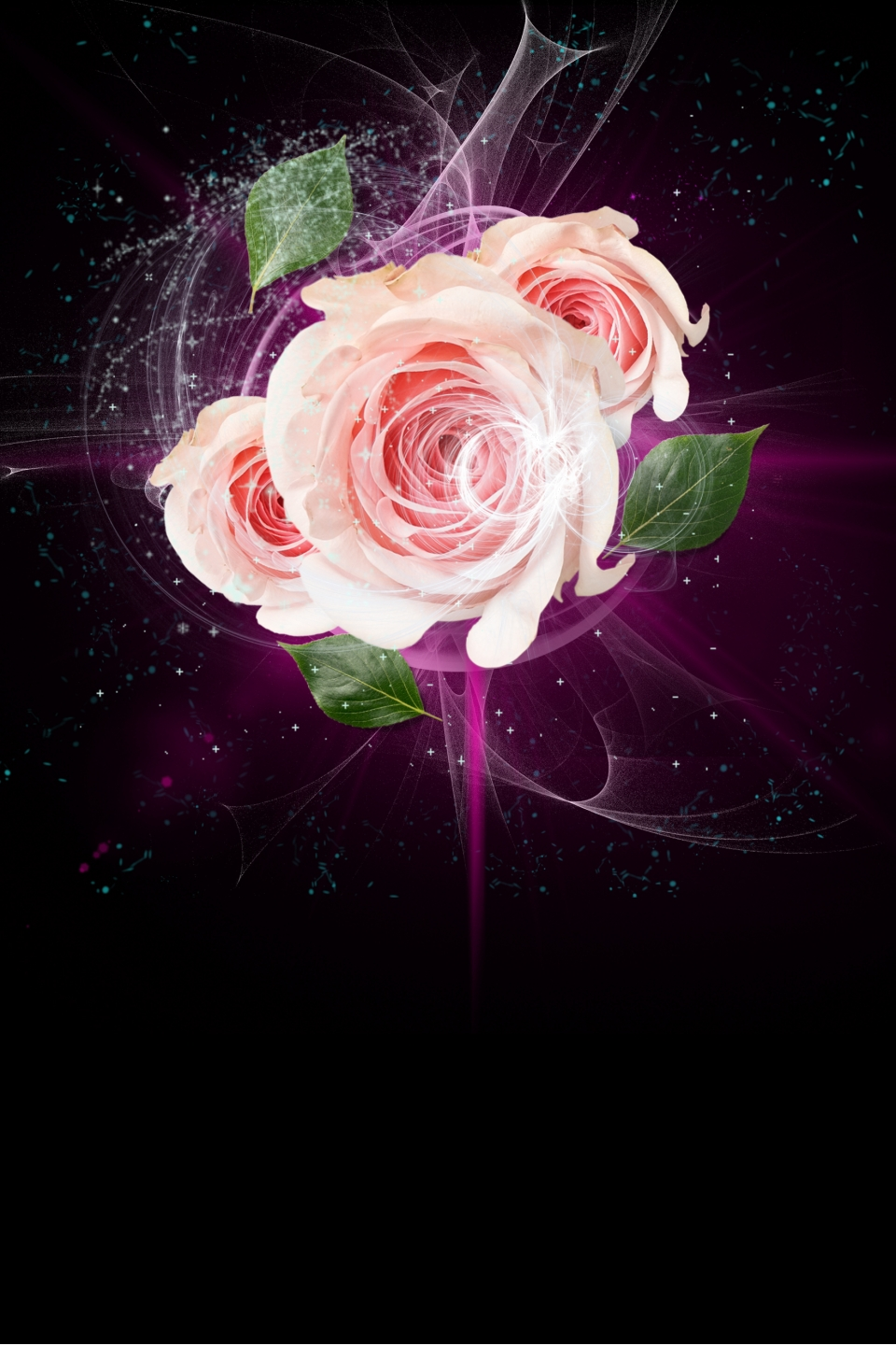 Beautiful Flower Luxury Plastic Surgery Poster Background Psd